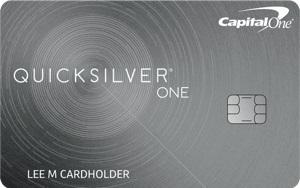 capital one quicksilverone card cash back