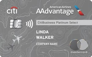 CitiBusiness / AAdvantage Platinum Select World Mastercard Bonus