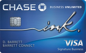 Chase Ink Business Unlimited Bonus
