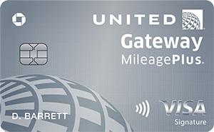 United Gateway Card Bonus