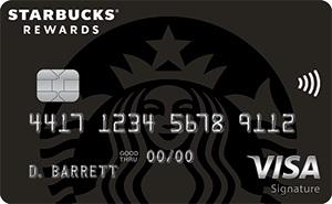 Starbucks Rewards Visa Credit Card Bonus