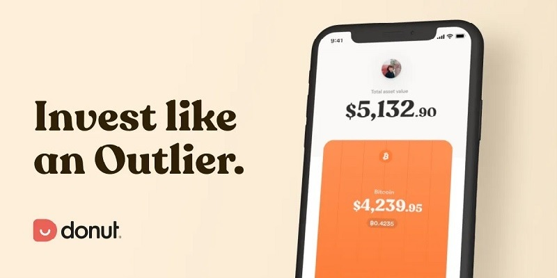 Donut Crypto Saving & Investing App Promotions: $10 Sign-Up Bonus & $10 Referrals