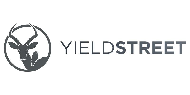 YieldStreet Logo Promotions