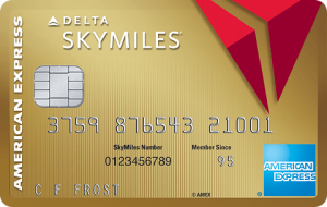 Gold Delta SkyMiles Credit Card from American Express 30,000 Points Bonus + $50 Statement Credit + No Annual Fee First Year