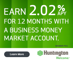 Huntington Business Premier Money Market Promotion Bonus Review